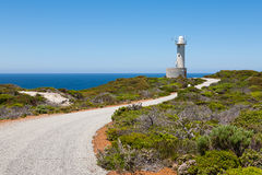 Cave Point Lighthouse. Torndirrup National Park, Albany, Western Australia stock photos