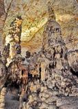 Cave Postojna. Postojna Cave in  southwestern Slovenia Royalty Free Stock Image
