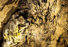 Cave with rare formations Stock Photos