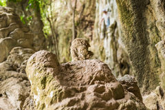 The cave in rock Royalty Free Stock Photography