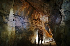 Cave in Romania Royalty Free Stock Photos