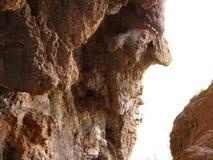 Cave in Sant Miquel del Fai Stock Image
