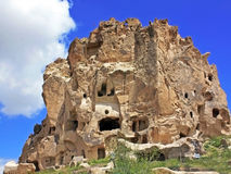 Cave settlement in Cappadocia royalty free stock photo