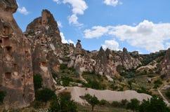 Cave settlements of Cappadocia, Turkey Stock Image