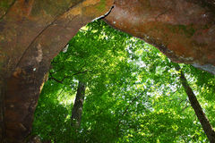 Cave Spring - Natchez Trace Parkway Royalty Free Stock Photos