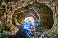 Cave Stream Stock Image