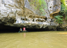 Cave at Tam Coc Royalty Free Stock Images