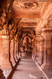 Cave temple at Badami, KA Stock Images