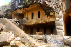 Cave Temple, Bhaja, Maharashtra, India Royalty Free Stock Images