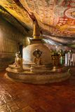 Cave Temple - Buddha - Buddhist - Dambulla royalty free stock images