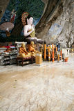 Cave temple buddha statue krabi thailand Royalty Free Stock Photo