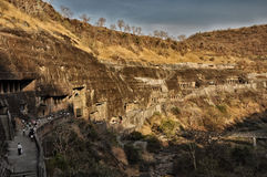 Cave temple complexes of Ajanta and Ellora Stock Photo