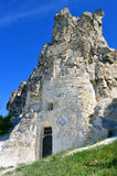 The cave temple of Icon of Our Lady the Sicilian Royalty Free Stock Photos