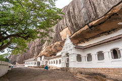 Cave Temples in Dambulla Royalty Free Stock Photography