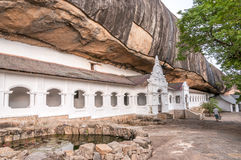 Cave Temples in Dambulla Royalty Free Stock Images