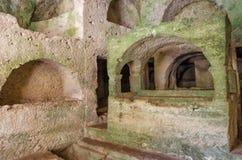 Cave Tombs In Antakya, Turkey Royalty Free Stock Image