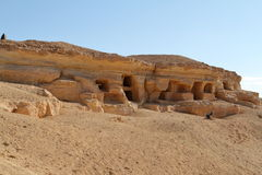 Cave tombs in the Siwa Oasis in Egypt Stock Images
