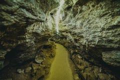 Cave underground Stock Photos