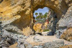Cave View to Paradise Royalty Free Stock Photos