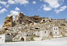Cave Village Province Of Goreme Turkey Royalty Free Stock Photos
