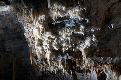 Cave wall Royalty Free Stock Photos