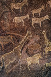 Cave Wall painting prehistoric Royalty Free Stock Photography
