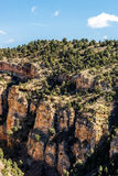 Cave of the winds road canyon views Royalty Free Stock Images