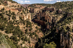 Cave of the winds road canyon views. Williams / waldo canyon are popular hiking and vacation areas in manitou and colorado springs. rock cliff canyon nature in Royalty Free Stock Image