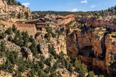 Cave of the winds. Tourist attraction located in colorado manitou springs. views of williams / waldo canyon Stock Photos