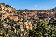Cave of the winds. Tourist attraction located in colorado manitou springs. views of williams / waldo canyon Royalty Free Stock Photography