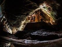 Cave. Yathei Pyan Cave near Hpa An, Myanmar Royalty Free Stock Image