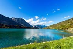 Cavedine Lake - Trentino Italy Stock Image