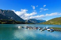 Cavedine Lake - Trentino Italy Stock Images