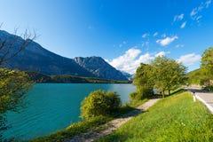Cavedine See - Trentino Italien Lizenzfreies Stockbild