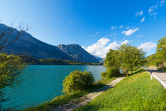 Cavedinemeer - Trentino Italië Royalty-vrije Stock Afbeelding
