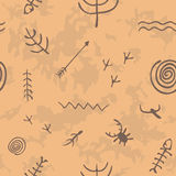 Cavedrawings. Stock Photography