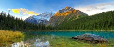 Free Cavell Lake Stock Image - 45938821