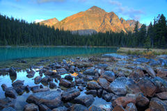 Free Cavell Lake Royalty Free Stock Photography - 45938827
