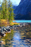 Cavell Lake Jasper National Park Royalty Free Stock Photos