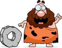 caveman εφεύρεση Στοκ Φωτογραφία