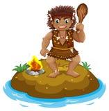 caveman Imagens de Stock