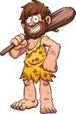 Caveman dos desenhos animados Fotografia de Stock