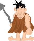 Caveman with Spear Royalty Free Stock Photography
