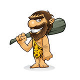 Caveman Royalty Free Stock Images