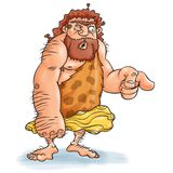 Caveman wonders Royalty Free Stock Photography