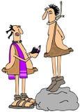 Cavemans last rites Royalty Free Stock Image