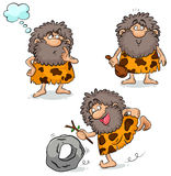Cavemen Stock Photo