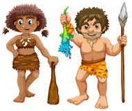 Cavemen Stock Photos