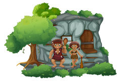 Cavemen Royalty Free Stock Photos