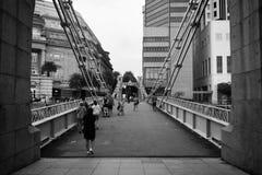 Cavenagh桥梁 免版税图库摄影